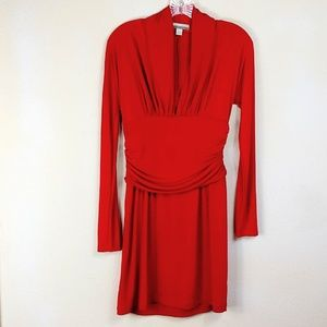 Andrea Behar Boston Proper Red Forgiven Dress A41